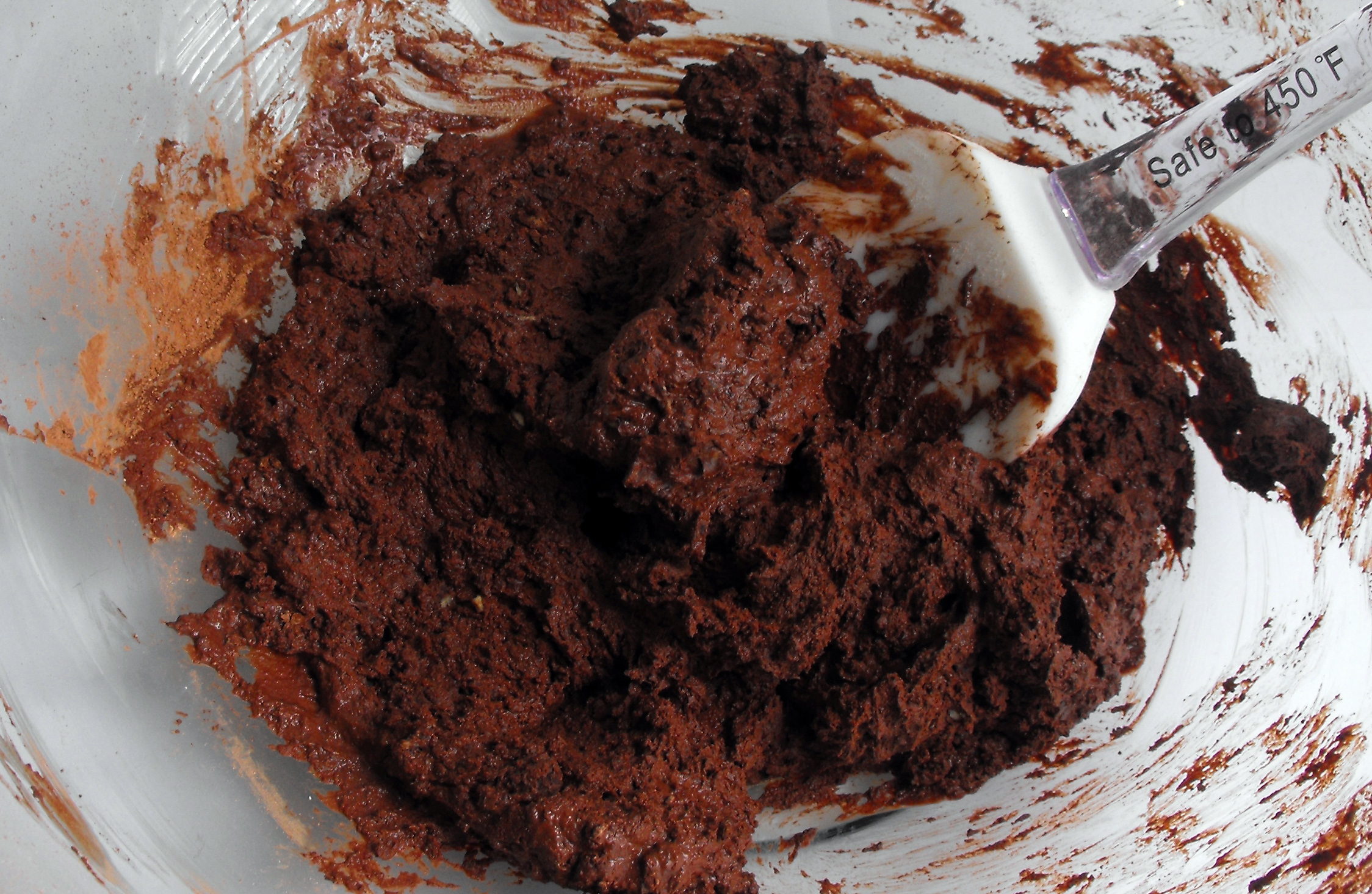 photo of gluten free brownie batter