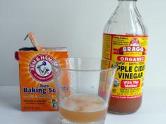 Apple cider vinegar baking soda fibroid treatment