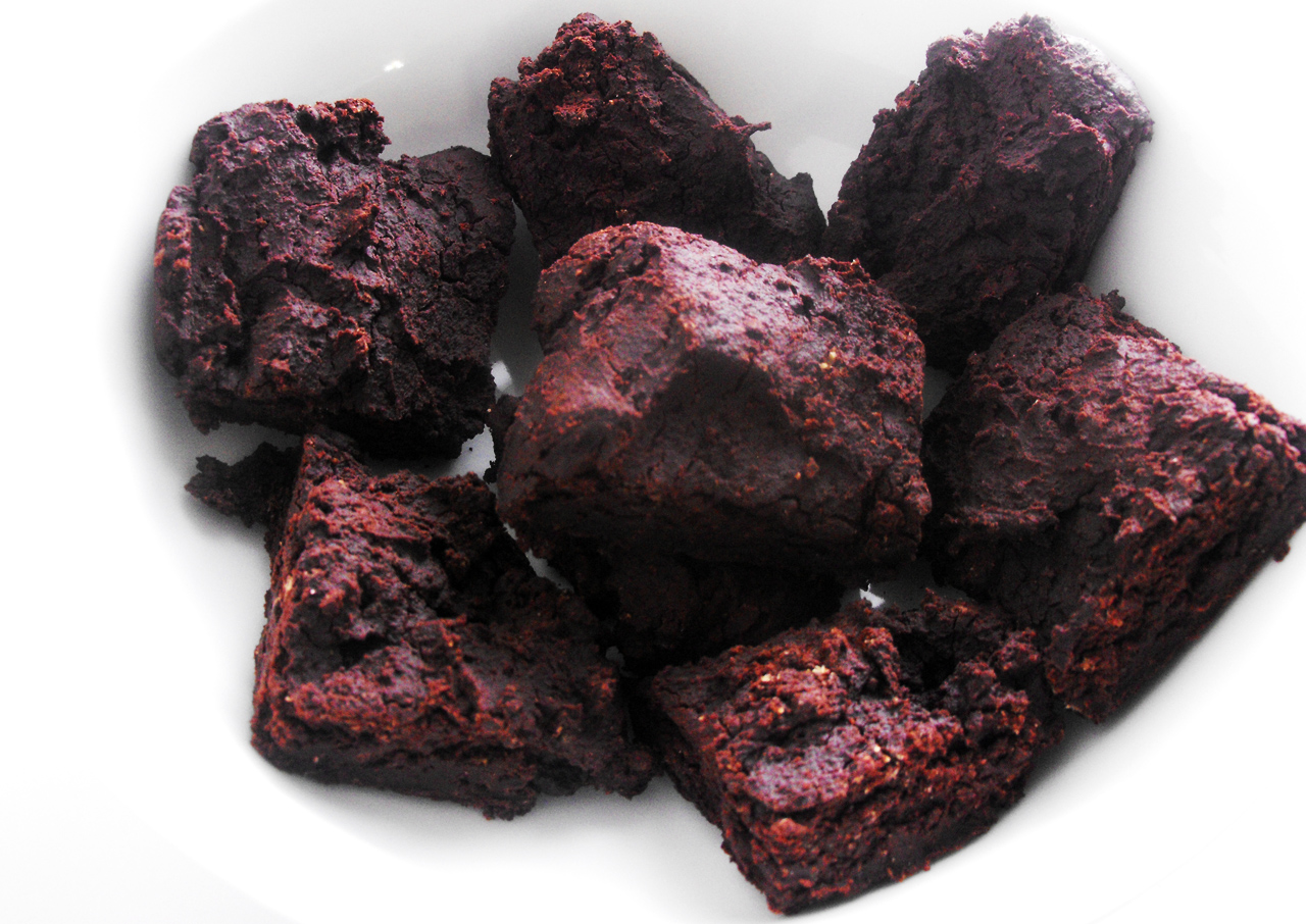 fibroid friendly gluten free brownies