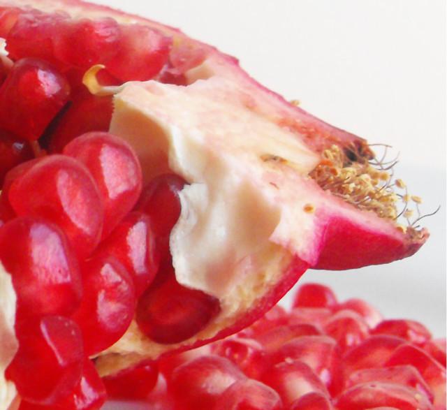 pomegranate breakfast Monday September 29 2014 1