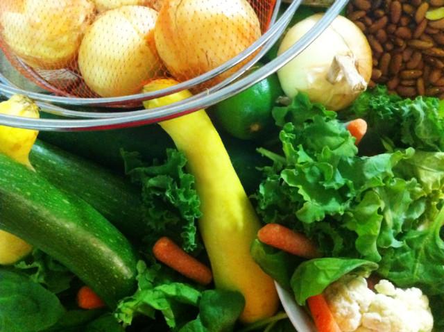 Vegetables for blended soup sunday june 7 2015